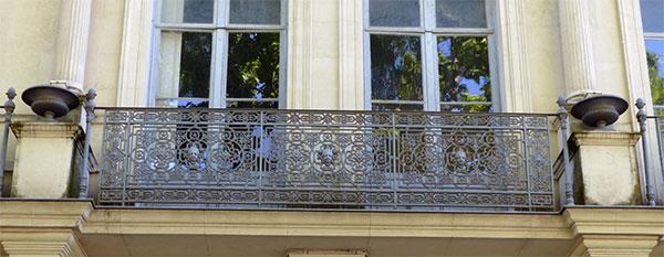 Maison Rédarès : Balcon du 1er étage